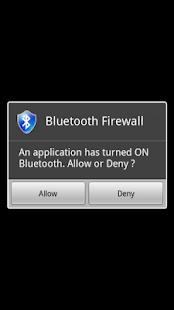Bluetooth Firewall - screenshot thumbnail