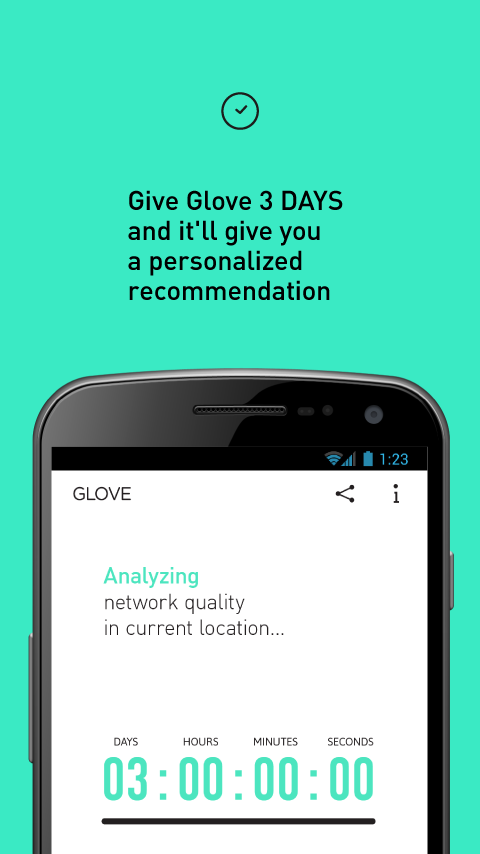 Glove - A Network That Fits- screenshot