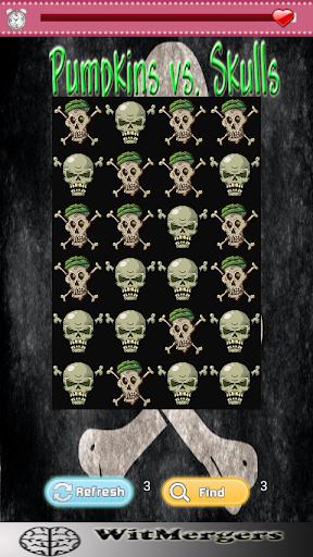 【免費動作App】Pumpkins vs. Skulls-APP點子