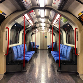 The Central Line  by Benjamin Arthur - Instagram & Mobile iPhone ( london, tube, metro, central line, underground )