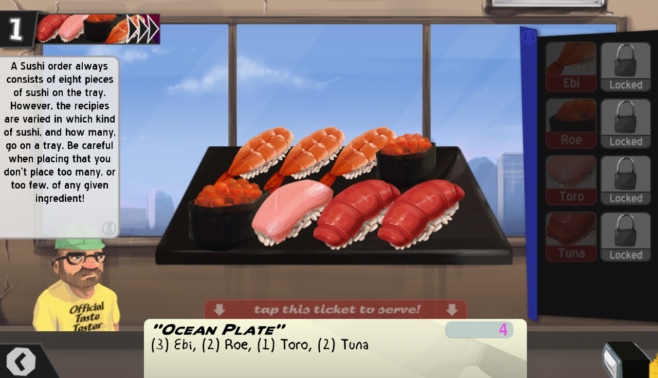 Cook, Serve, Delicious! Demo - screenshot