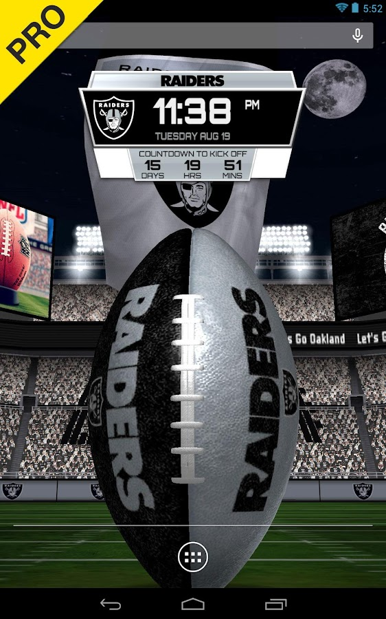 NFL 2015 Live Wallpaper - screenshot