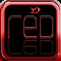 Red 4 Twitter logo
