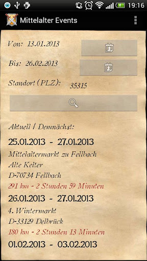 Mittelalter Events