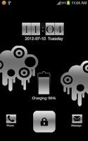 Screenshot of Silver Lock GoLocker Theme