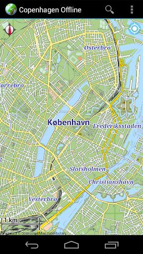 Offline Map Copenhagen