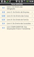 Screenshot of Brazilian Civil Code