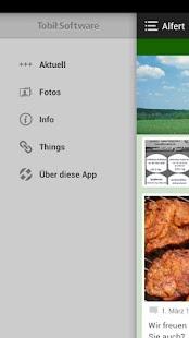 Qualitätsfleischerei Alfert - screenshot thumbnail