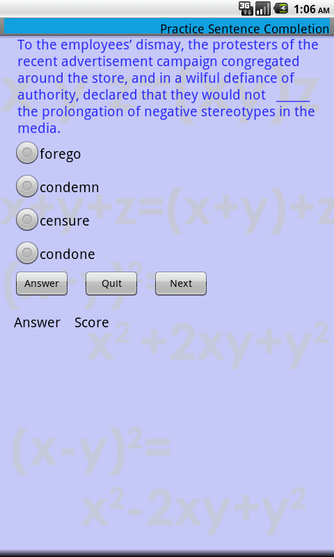 Complete GRE Prep- screenshot
