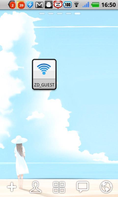 WIFI widget(One tap switch) screenshot #2