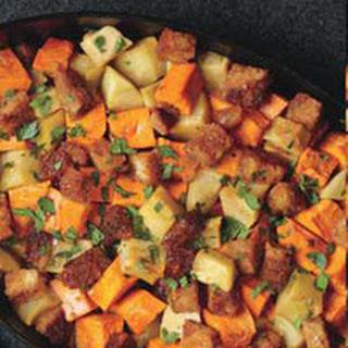 Caramel Apple-Sweet Potato Casserole