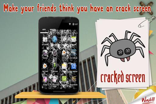 Cracked Screen Prank App: Real