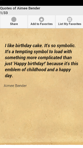 Quotes of Aimee Bender
