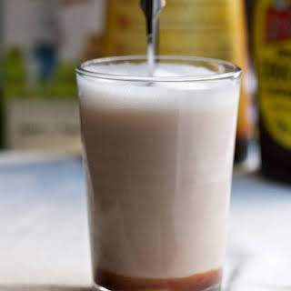 Spiked Brooklyn Egg Cream.