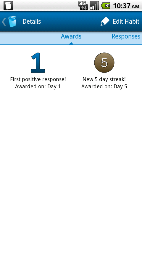 Floss: Your Habit Coach- screenshot