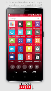 OnePlus One Launcher Theme - screenshot thumbnail