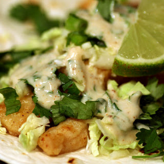 Spicy Lime Fish Tacos.