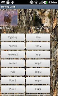 HD Deer Turkey Predator Calls - screenshot thumbnail