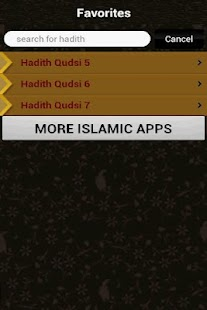 40 Hadith Qudsi (Islam)- screenshot thumbnail