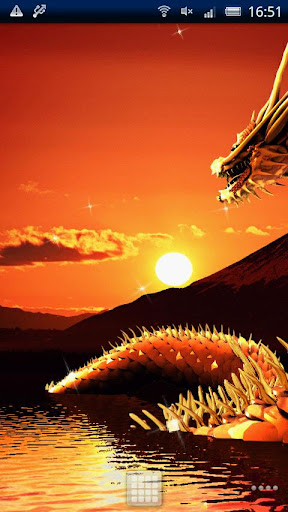 Dragon of Mt. Fuji