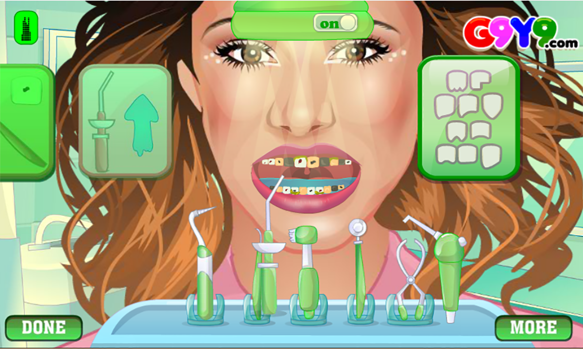 girl dentist surgery- screenshot