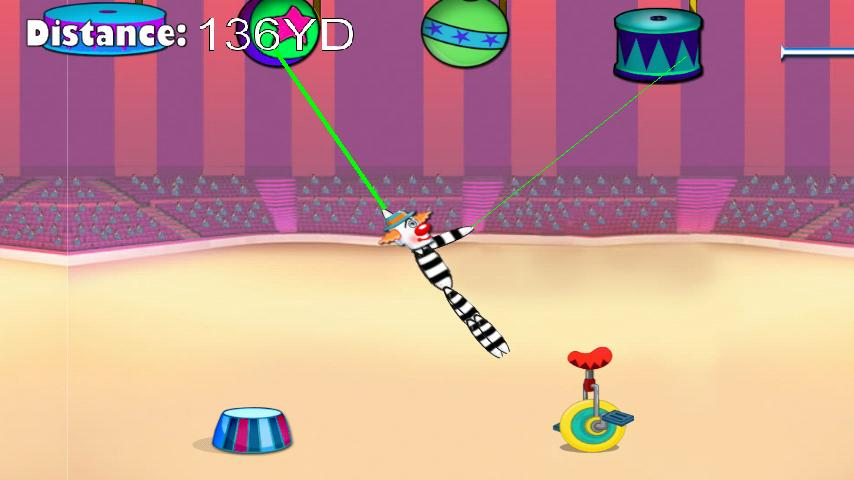 Rope Stunt in Circus - screenshot