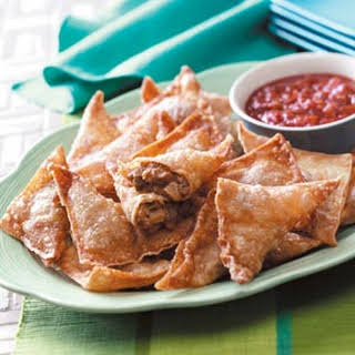 Southwestern Appetizer Triangles.
