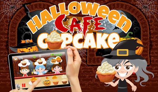 Halloween Cupcake Maker Cafe