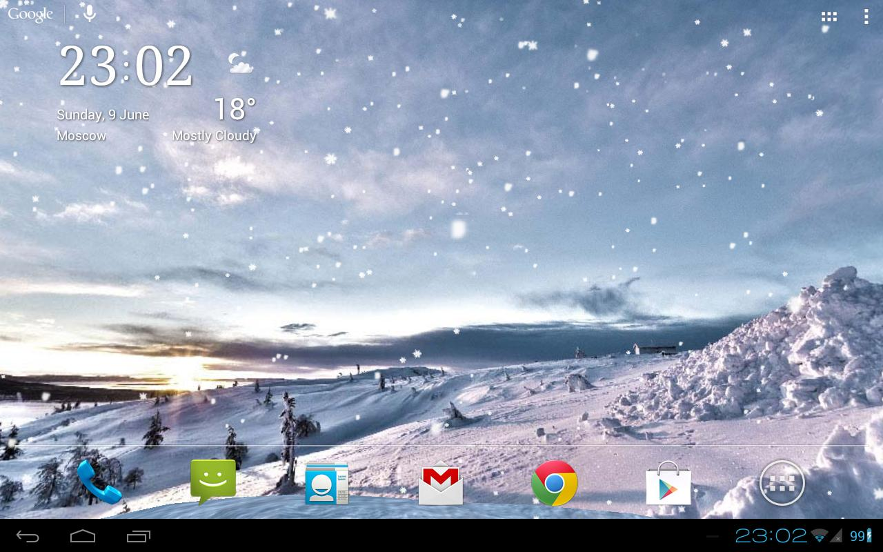 Snowfall 360 Live Wallpaper Android Apps on Google Play