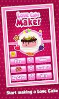 Screenshot of Love Cake Maker - Cooking game