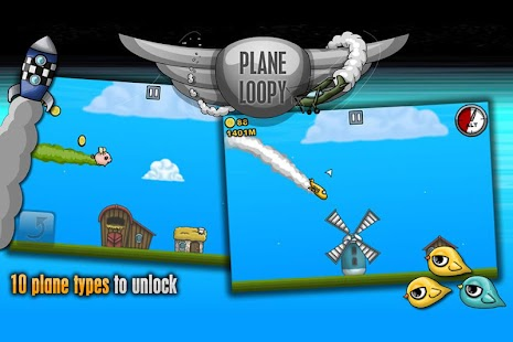 Plane Loopy- screenshot thumbnail