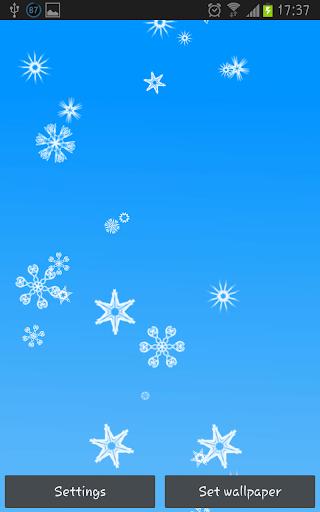 Snowflakes LWP Free