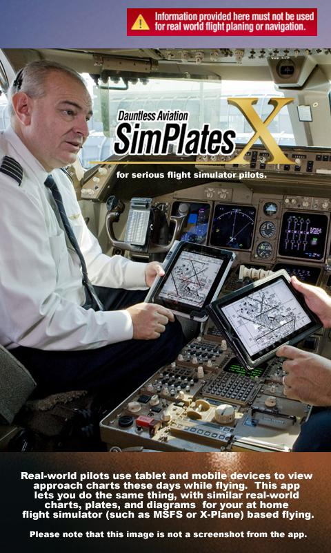 SimPlates for Flight Simulator- screenshot