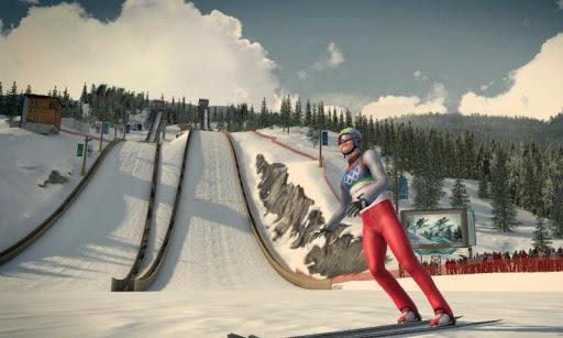 Ski Over Snow