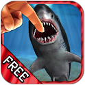 Shark Fingers 3D Aquarium FREE icon