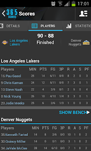 365Scores:Sports Scores & News - screenshot thumbnail