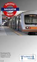 Screenshot of Kolkata Metro Navigator