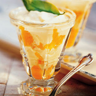 Tangerine Cream Parfaits