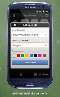 Symbaloo EDU - screenshot thumbnail