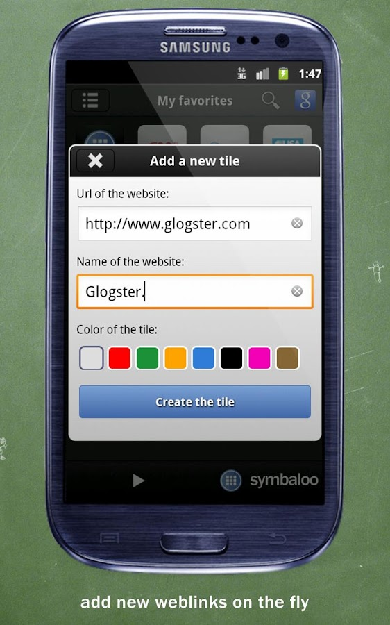 Symbaloo EDU- screenshot