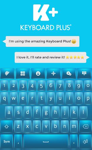 Keyboard Plus Color Blue