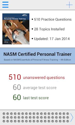 NASM CPT Test Prep