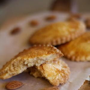 Marzipan filled Shortbread Cookies (Gevulde Koeken)
