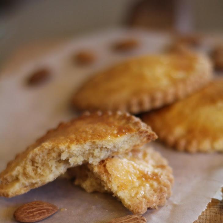 Marzipan Filled Shortbread Cookies (Gevulde Koeken) Recipe