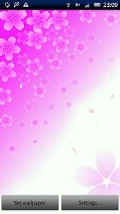 玩個人化App|Cherry Blossom Live Wallpaper免費|APP試玩