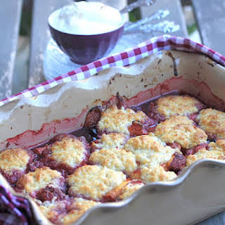 Summer Fruit Cobbler.