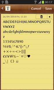 Humana Sans ITC FlipFont Screenshot 3