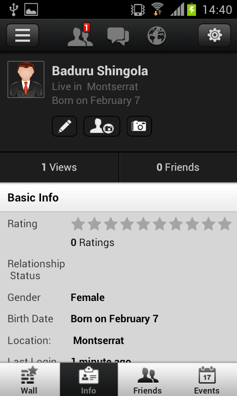 Afroterminal - screenshot