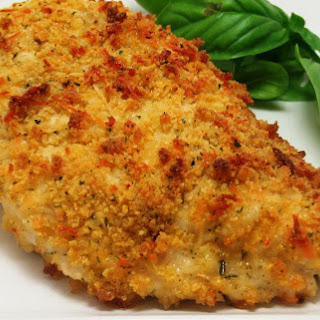Panko Breaded Baked Chicken.