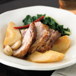 Braised Pork with Pears and Chiles.